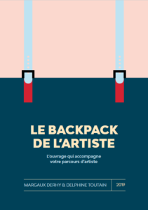 Le backpack de l'artiste